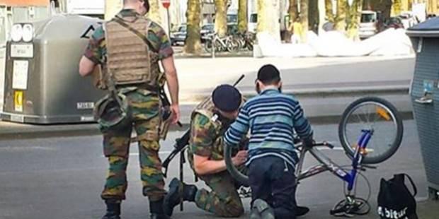 Quand les militaires font le buzz à Anvers (PHOTO) - La Libre
