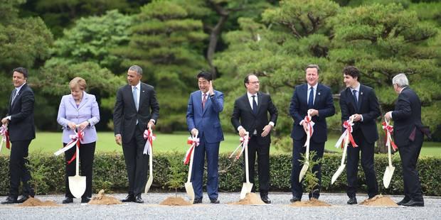 Economie mondiale, terrorisme, migrations: le G7 s'ouvre sur un agenda chargé - La Libre