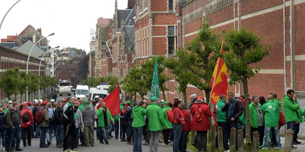 Les gardiens de la prison de Saint-Gilles et d'Andenne rejettent le protocole d'accord - La Libre