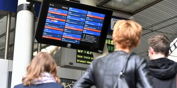 Grève à la SNCB: Déplacement possible en provinces de Namur et Luxembourg, et vers Bruxelles - La Libre