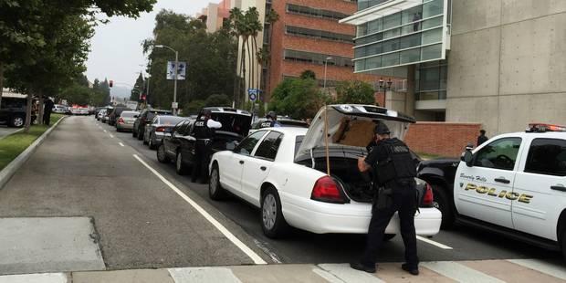 Un homme en abat un autre avant de se suicider sur un célèbre campus de Los Angeles - La Libre