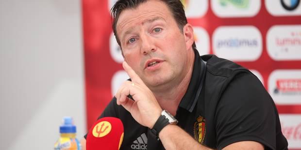 """Wilmots: """"Hazard et De Bruyne vont se relayer au poste de numéro 10"""" (VIDEOS) - La Libre"""