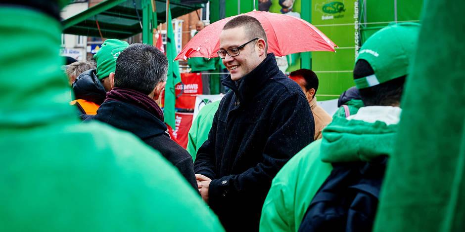 Comment le PTB infiltre les syndicats et irrite Marc Goblet - La Libre
