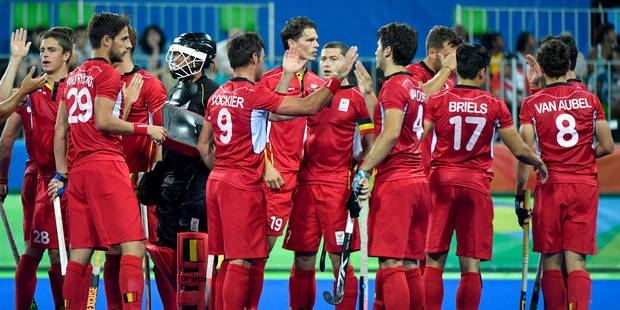 JO 2016 : les Red Lions sont en quarts (1-0) - La Libre