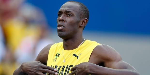 La légende Usain Bolt contre le poids des ans - La Libre