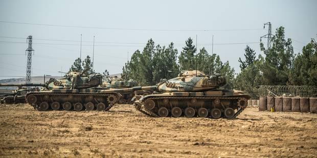 Syrie : combats entre armée turque et Kurdes au 4e jour de son offensive - La Libre