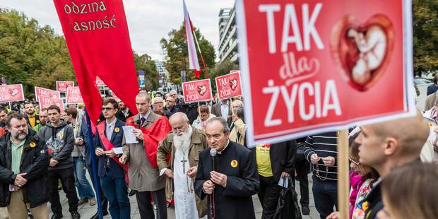 Le Parlement polonais envisage l'interdiction totale de l'avortement - La Libre