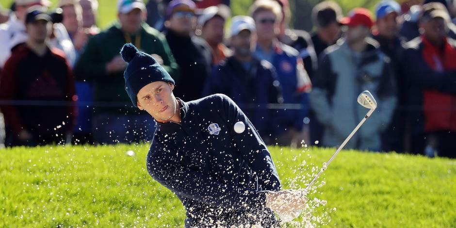 Golf: la pression monte pour Pieters - La Libre