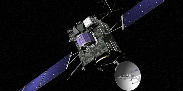 Rosetta s'est écrasée sur la comète Tchouri, fin d'une mission historique (VIDEO) - La Libre