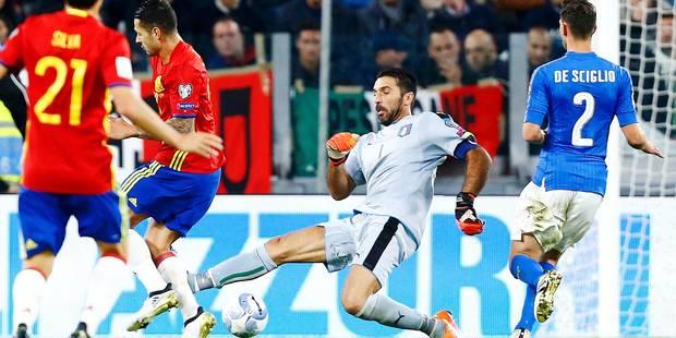 Gigi Buffon se troue complètement sur le but espagnol (VIDEO) - La Libre