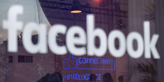 Facebook a payé 4,63 millions d'euros d'impôts en 2015 au Royaume-Uni - La Libre