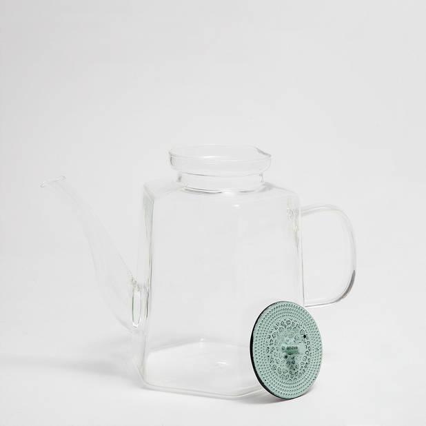 Théière Borosilicate couvercle métal. 35,99 €