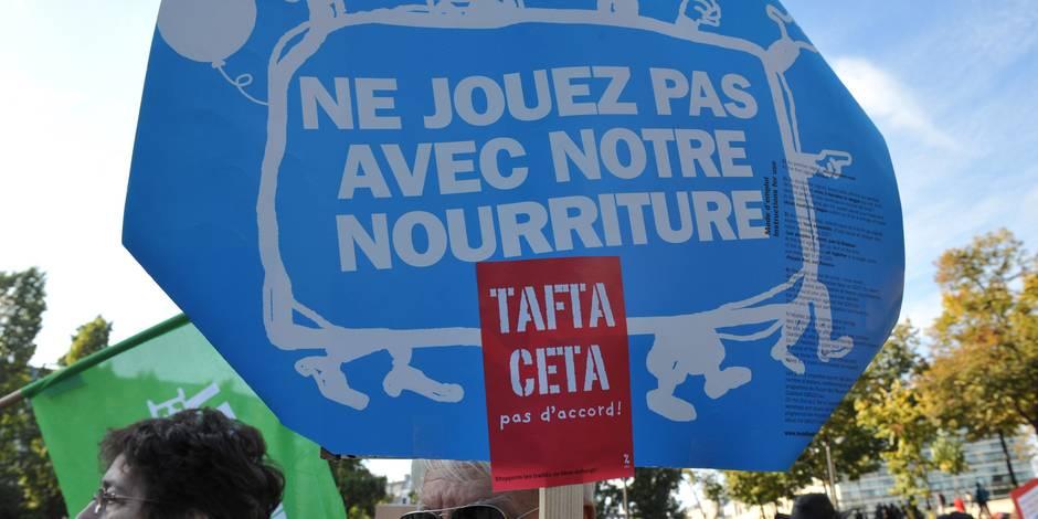 CETA : le refus wallon vu de l'étranger - La Libre