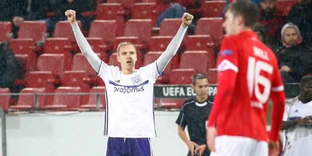 Europa League: Anderlecht prend la tête du groupe après son nul à Mayence; Genk bat Bilbao (2-0) - La Libre