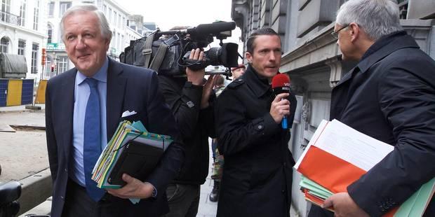 Daniel Bacquelaine rencontre les syndicats militaires - La Libre