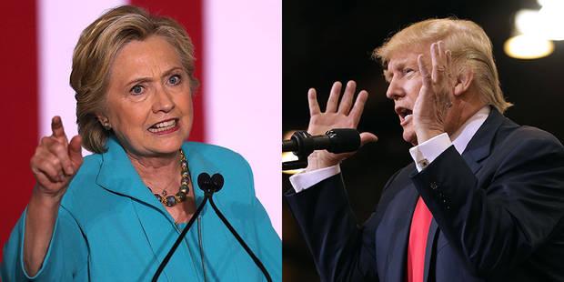 Affaire des emails : Clinton faiblit dans les sondages, Trump tente de déjouer les pronostics - La Libre