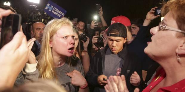 La défaite de Clinton laisse de nombreuses femmes désemparées - La Libre