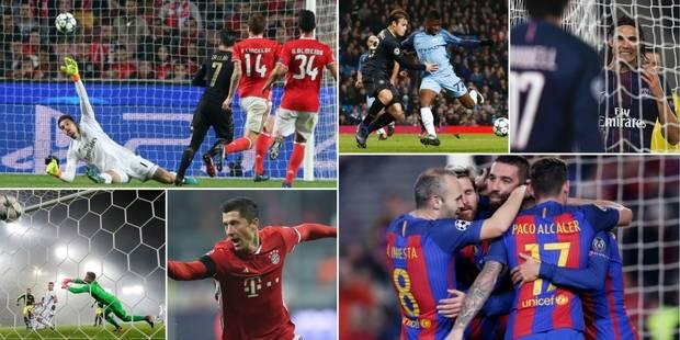 Cartons pleins pour Arsenal, le Barça et Kiev, frayeur pour le PSG contre Ludogorets, le Bayern s'offre l'Atlético et Na...