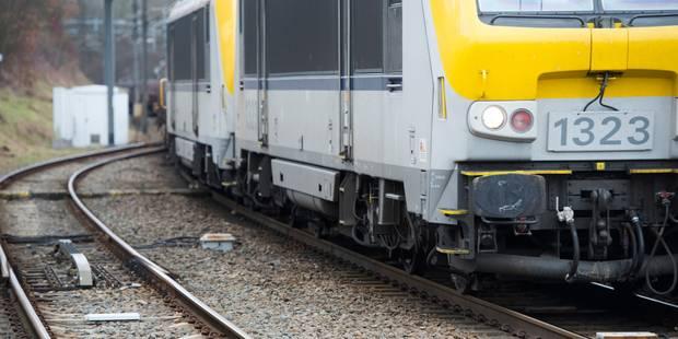 Trafic ferroviaire perturbé entre Bruxelles-Luxembourg et Ottignies - La Libre