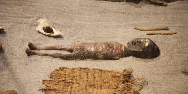 Les momies les plus vieilles du monde passent un scanner - La Libre