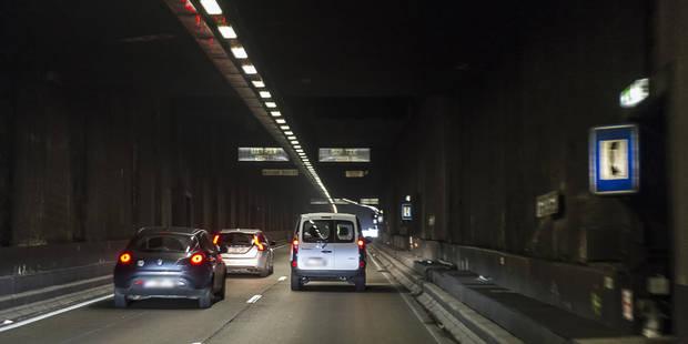 Les tunnels Léopold II et Rogier sont à nouveau ouverts à la circulation - La Libre