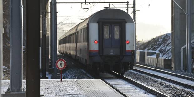 Train bloqué à hauteur de Flémalle: des retards sur la ligne Namur-Liège - La Libre