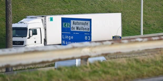 La taxe kilométrique pour les poids lourds a déjà rapporté 490 millions d'euros - La Libre