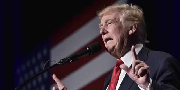 Face à sa cote de popularité au plus bas, Trump dénonce des sondages truqués - La Libre