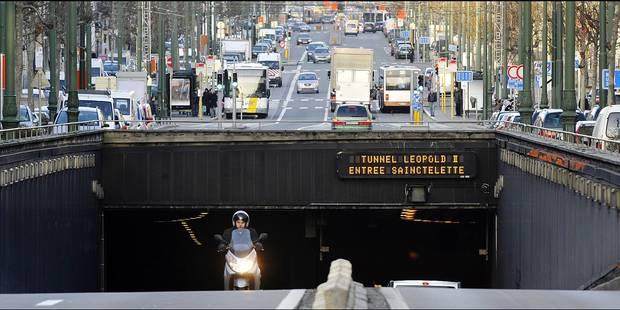 Bruxelles: Les amendes risquent de pleuvoir dans le tunnel Léopold II (INFOGRAPHIE) - La Libre