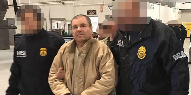 """Le narcotrafiquant """"El Chapo"""" sera présenté à un juge vendredi à New York - La Libre"""