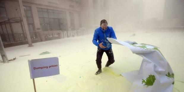 Il a neigé du lait en poudre sur Bruxelles (VIDEO) - La Libre