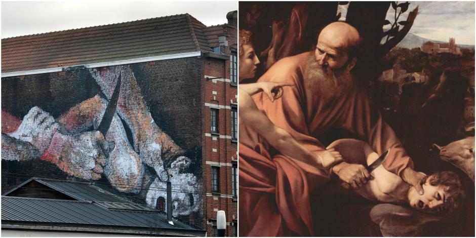 Ce que cachent les fresques de Bruxelles - La Libre