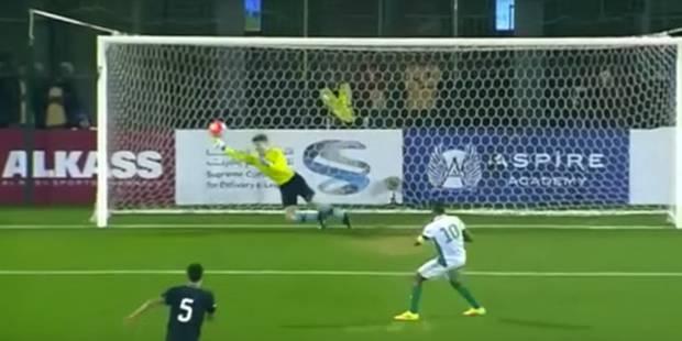 Un jeune attaquant belge arrête un penalty (VIDEO) - La Libre
