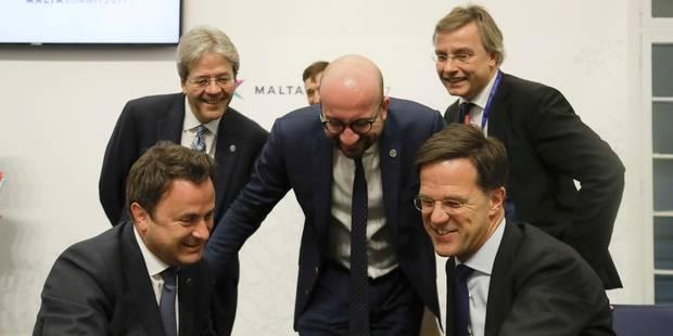 Dix priorités européennes, la promesse de la Déclaration de Rome selon Charles Michel - La Libre