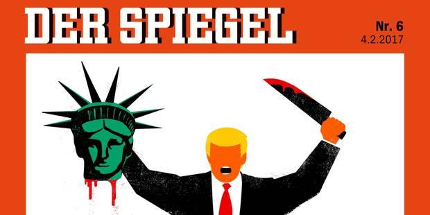 Cette photo osée du Spiegel sur Donald Trump crée la polémique - La Libre