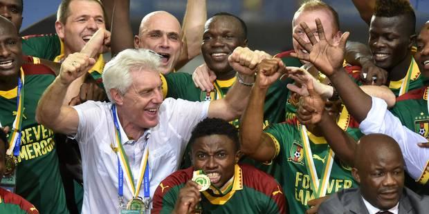 Hugo Broos remporte la Coupe d'Afrique des Nations avec le Cameroun (PHOTOS et VIDEOS) - La Libre