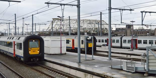 Aucun train ne circulera entre Bruxelles-Nord et Bruxelles-Midi le week-end du 1er mai - La Libre