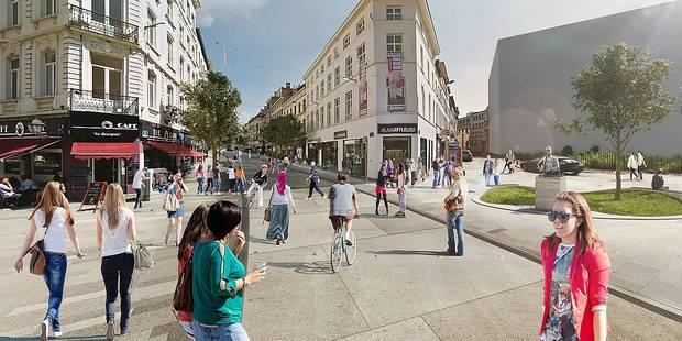 Les 6 scenarii de mobilité pour la chaussée d'Ixelles - La Libre