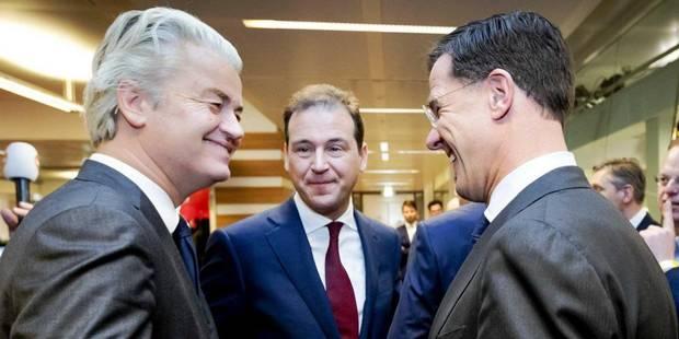 Elections néerlandaises: un face-à-face télévisé virulent entre Mark Rutte et Geert Wilders - La Libre