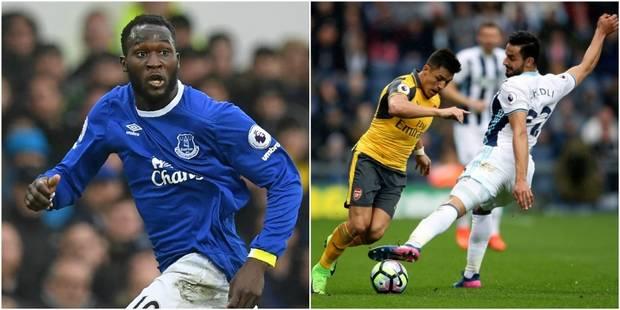 Belges à l'étranger: Chadli à l'assist face à Arsenal, doublé pour Lukaku! (VIDEO) - La Libre