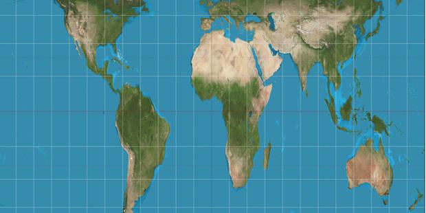 A Boston, les écoles changent de vision en adoptant une nouvelle carte du monde - La Libre