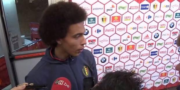 """Witsel: """"La suspension du joueur chinois est exagérée"""" - La Libre"""