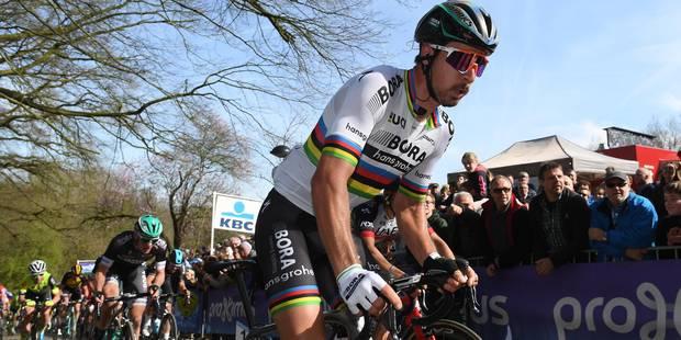 Le geste très agressif de Sagan lors de Gand-Wevelgem (VIDEO) - La Libre