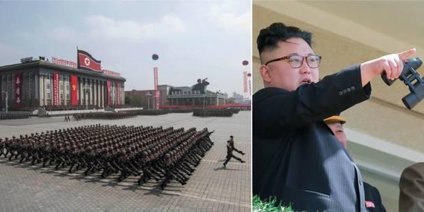 Corée du Nord: impressionnant show militaire et menace de riposte nucléaire - La Libre