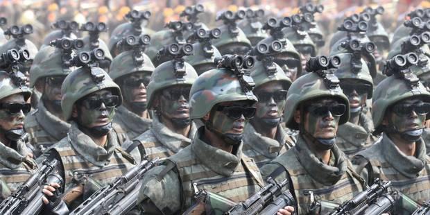 """La Corée du Nord se dit prête à réagir """"à n'importe quel type de guerre"""" des Etats-Unis - La Libre"""