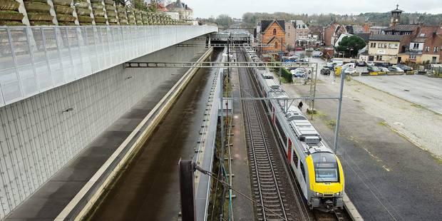 RER : le chantier est toujours à l'arrêt - La Libre