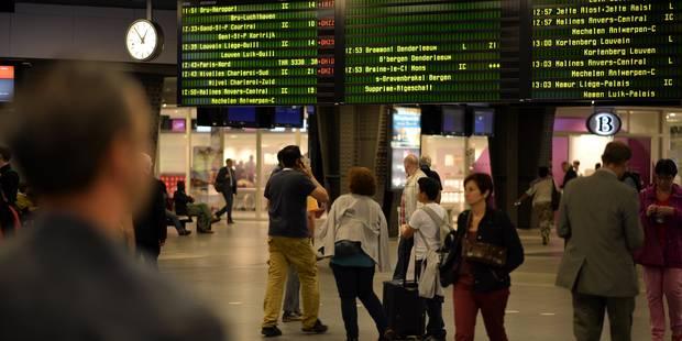 Week-end du 1er mai: la circulation des trains et métros perturbée à Bruxelles - La Libre