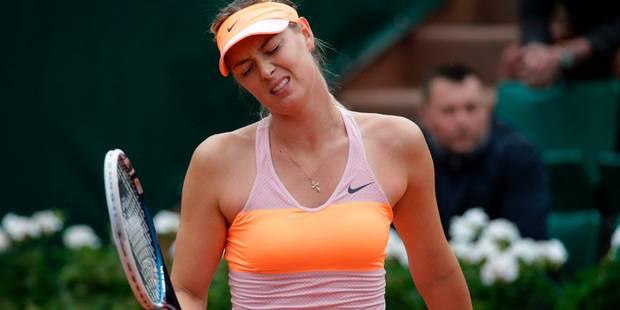 Sharapova absente à Roland-Garros : La WTA montre son désaccord - La Libre