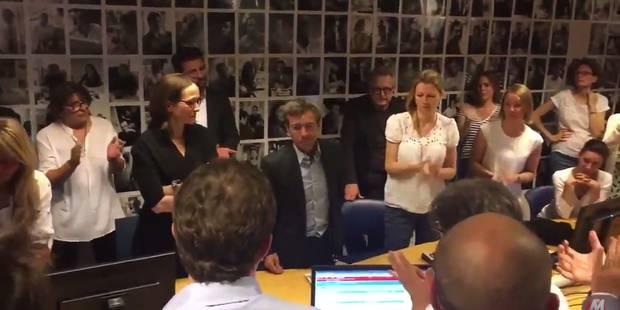 La rédaction du journal de France 2 rend un hommage appuyé à Pujadas (VIDEO) - La Libre