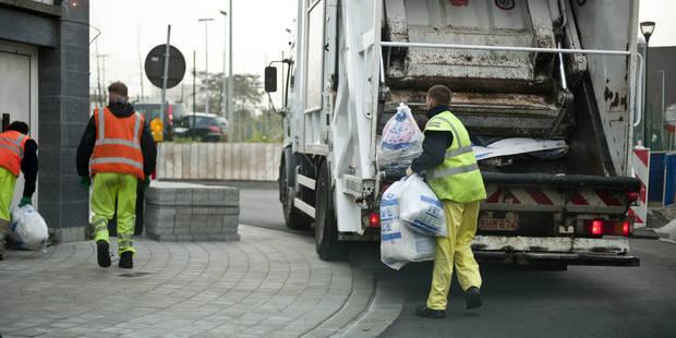 Le service propreté est entré en grève à Ixelles - La Libre